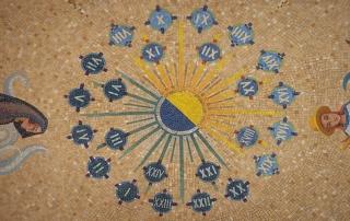 Star Circle Mosaic