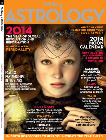 WellBeing Astrology Magazine 2014