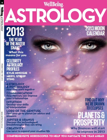 WellBeing Astrology Magazine 2013