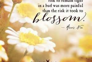 anais nin risk bud blossom
